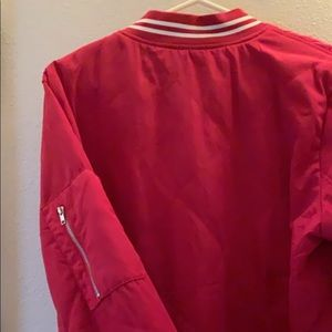 Rue21 Red XL bomber jacket